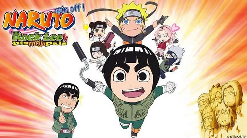 Naruto SD: Rock Lee no Seishun Full-Power Ninden   NARUTO Spin-Off: Rock Lee & His Ninja Pals   720p   TVRip   English Subbed