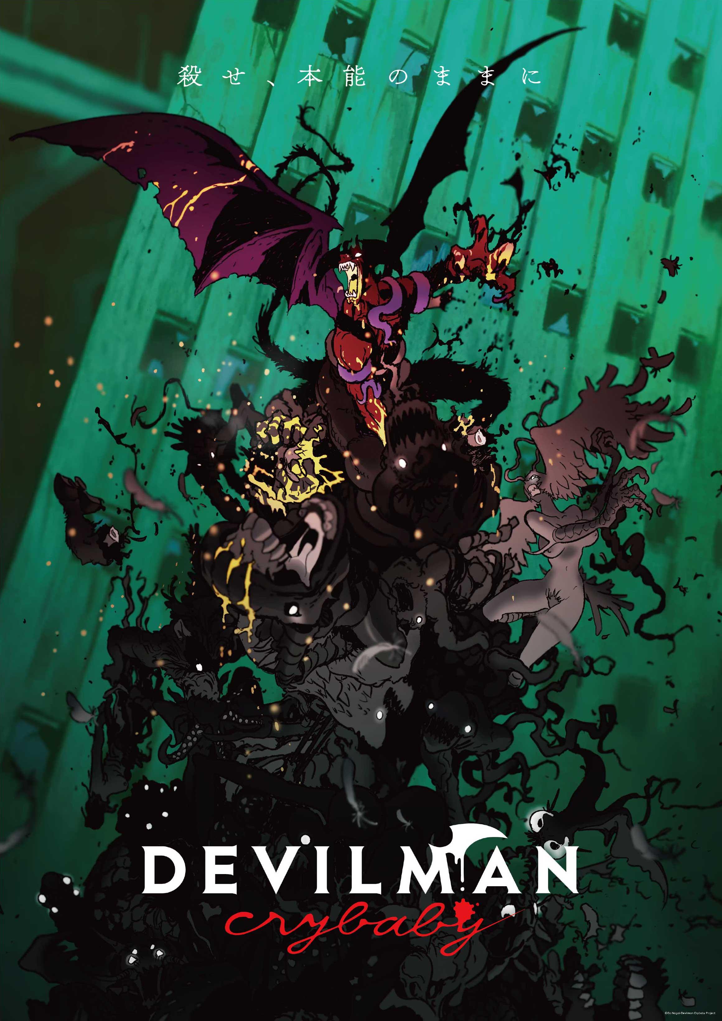 Devilman: Crybaby   480p   WebRip   Dual Audio