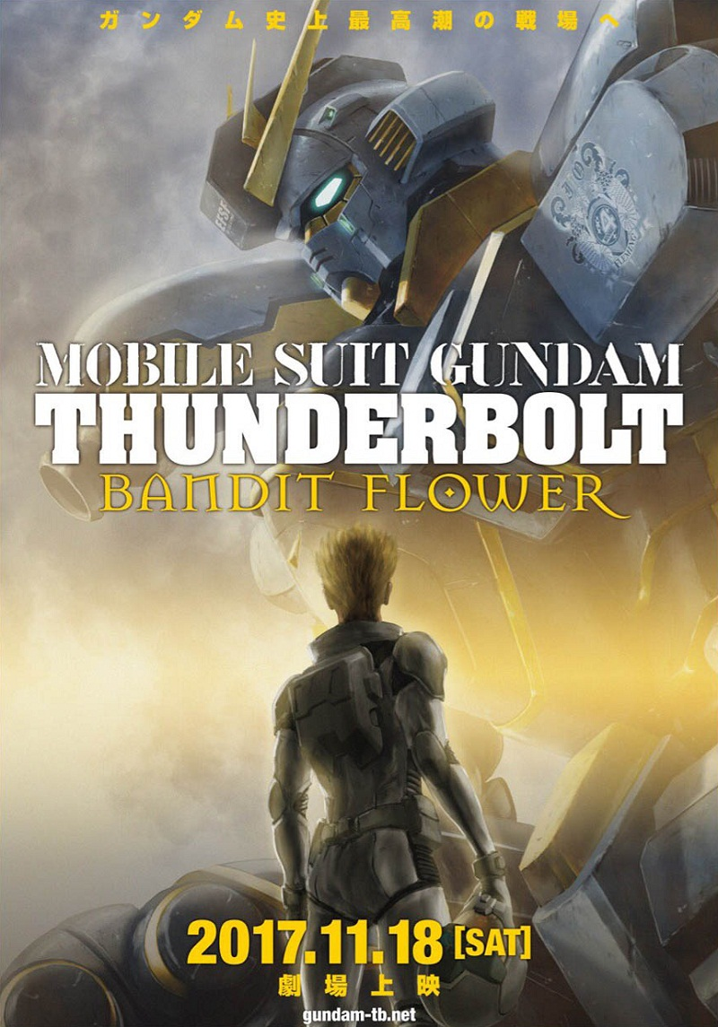 Mobile Suit Gundam Thunderbolt: Bandit Flower | 480p | BDRip | Dual Audio