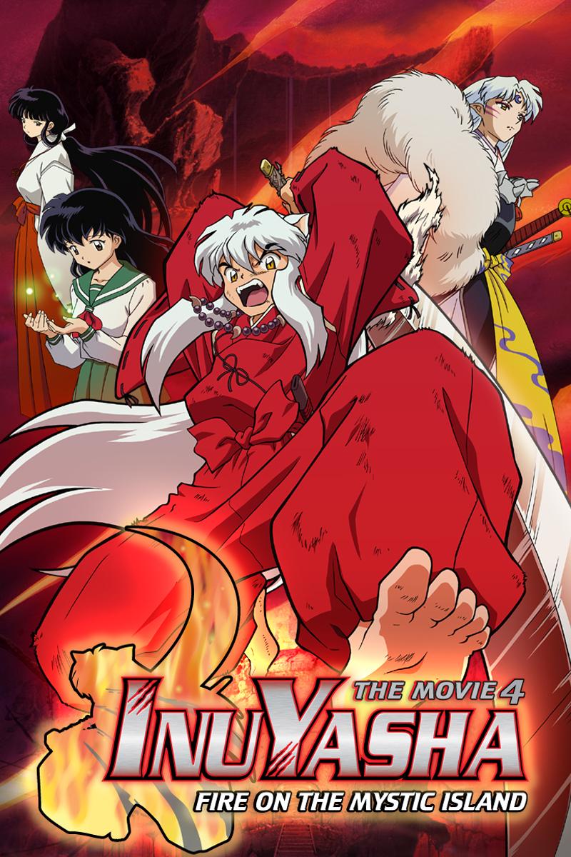 InuYasha Movie 4: Guren no Houraijima | 688p | BDRip | Dual Audio