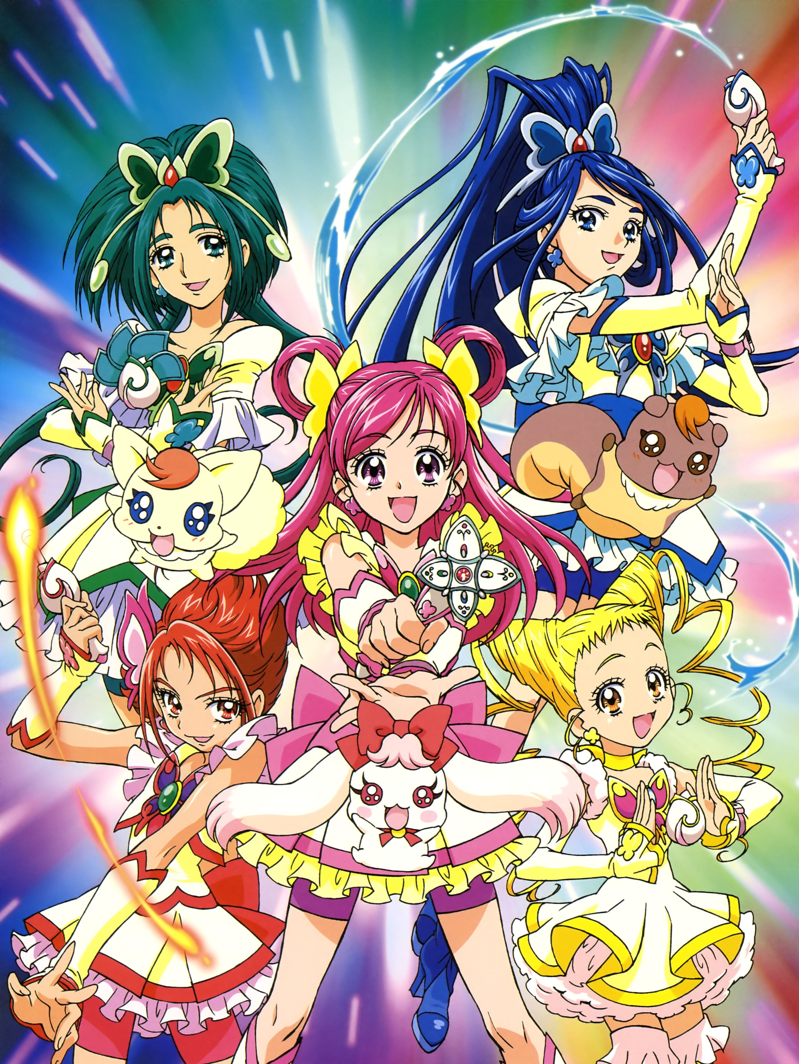Yes! Precure 5 + Movie   720p   BDRip   English Subbed