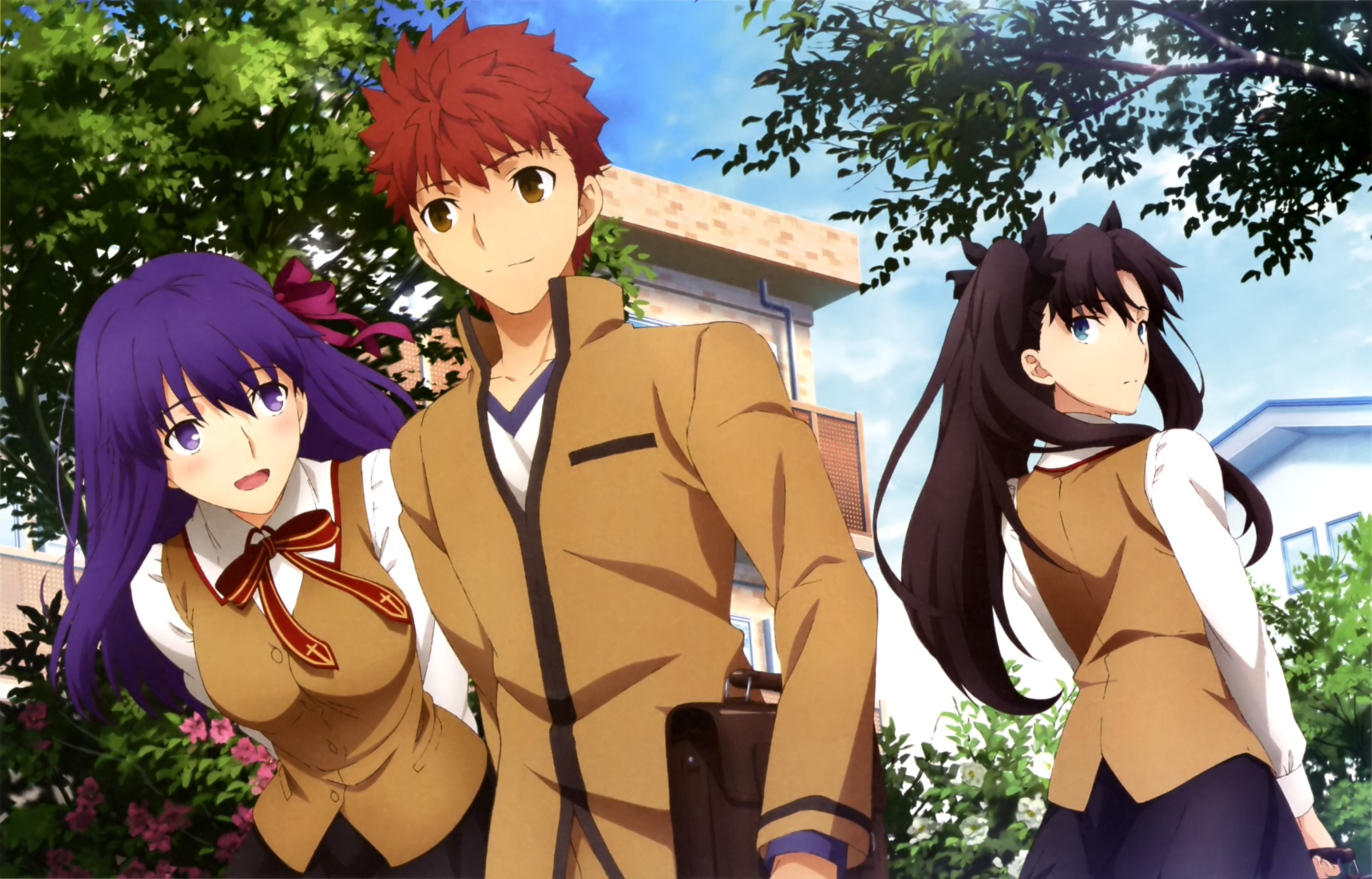 Fate/stay night Movie: Heaven's Feel - I. Presage Flower | 1080p | BDRip | Dual Audio | x265