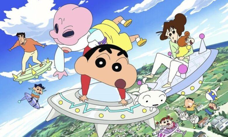 Crayon Shin-chan Movie 25 Shin-chan Shuurai! Uchuujin Shiriri