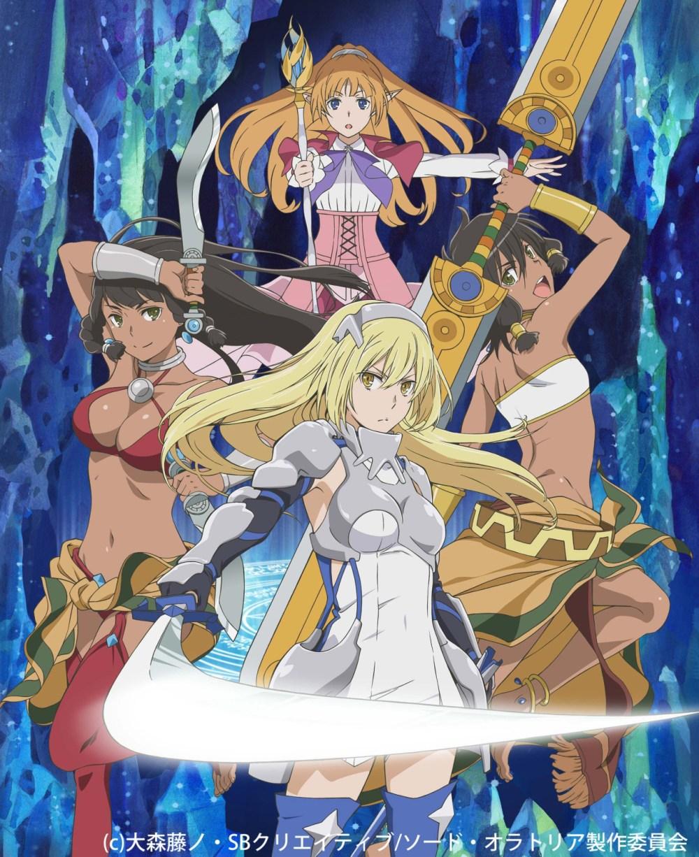 Dungeon ni Deai wo Motomeru no wa Machigatteiru Darou ka Gaiden: Sword Oratoria | 720p | BDRip | Dual Audio | x265