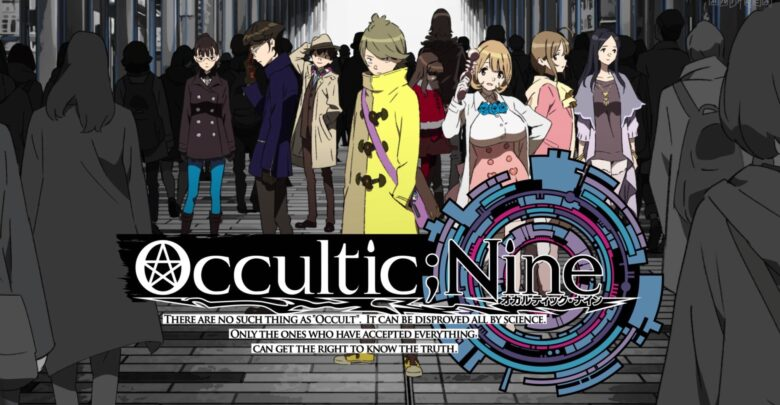 Download Occultic Nine 1080p x265 dual audio encoded anime