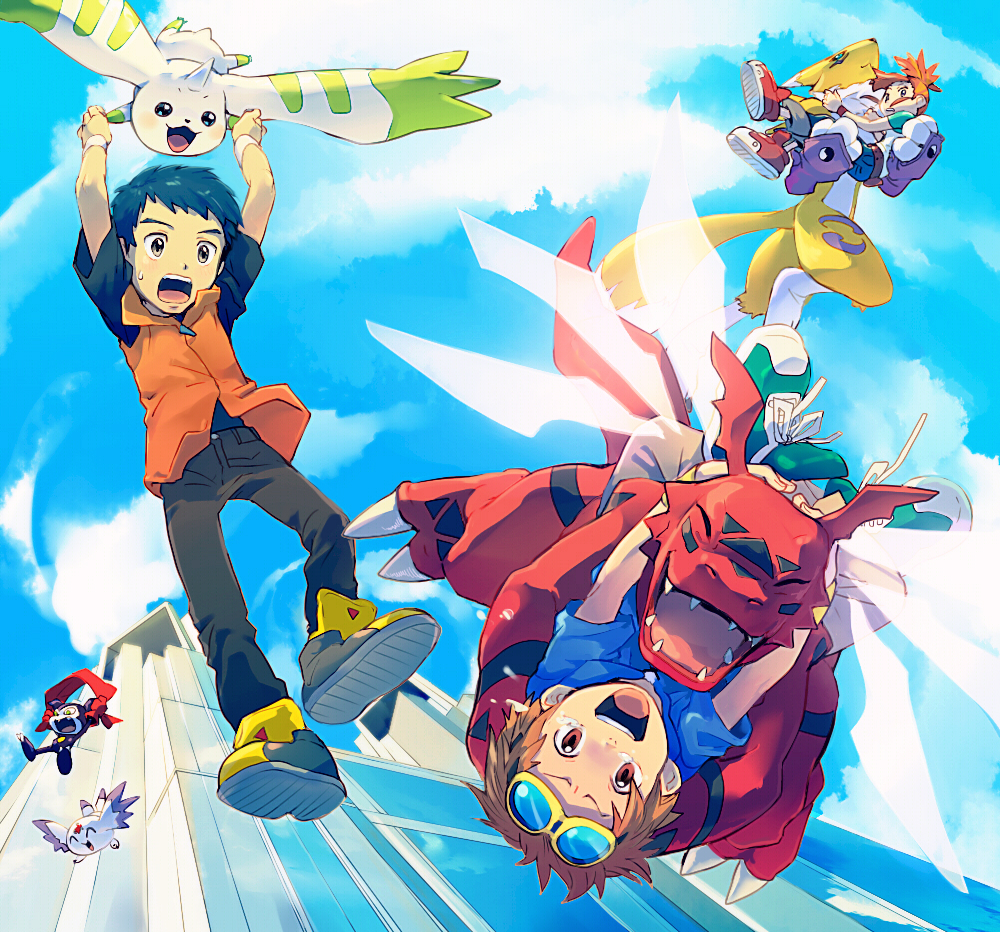 Digimon Tamers | 480p | DVD | English Subbed