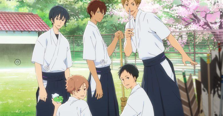 Download Tsurune Kazemai Koukou Kyuudoubu 720p x265