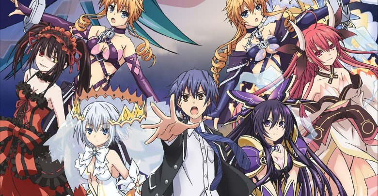 Date A Live 3 1080p x265 eng sub encoded anime download
