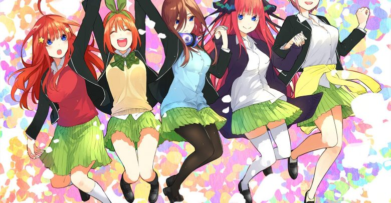 Gotoubun no Hanayome 480p encoded anime download
