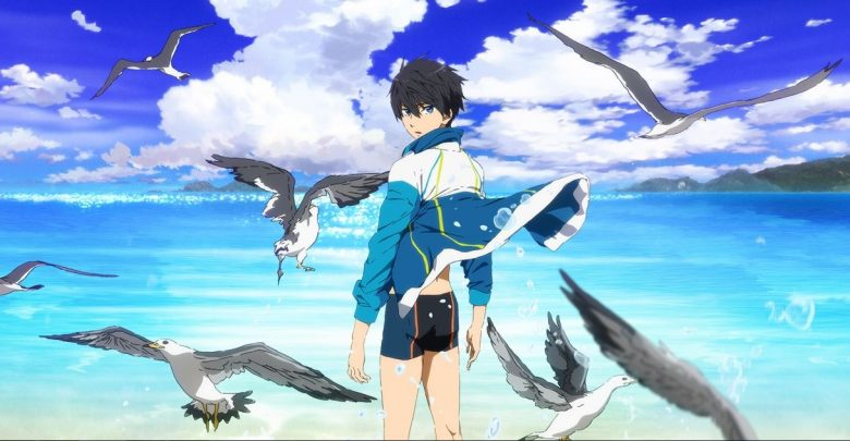 Download High Speed Free Starting Days movie 720p x265 eng sub encoded anime
