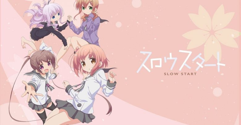 Slow Start 720p x265 eng sub encoded anime download
