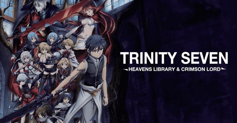 Trinity Seven Movie 2: Heavens Library to Crimson Lord