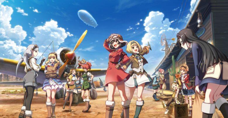 Download Kouya no Kotobuki Hikoutai 720p eng sub encoded anime