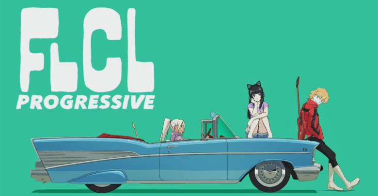 FLCL Progressive | 720p | x265 | English Dubbed