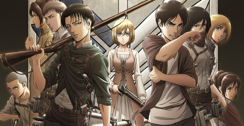 Shingeki no Kyojin Season 3 720p Dual Audio encoded anime