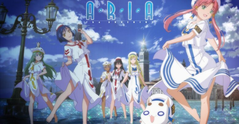 Download Aria The Avvenire Eng Sub encoded anime