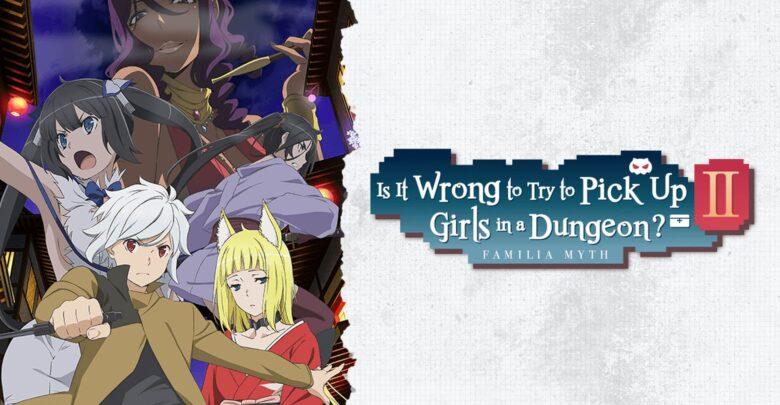 Download Dungeon ni Deai wo Motomeru no wa Machigatteiru Darou ka II 1080p x265 eng sub encoded anime