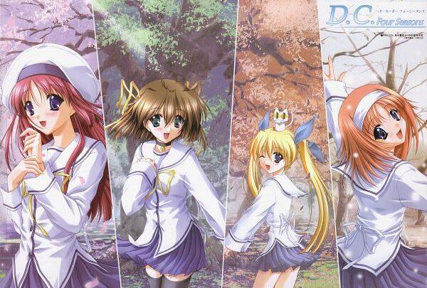 D.C.: Da Capo (All Series)   480p + 720p + 1080p   BD & DVD   English Subbed