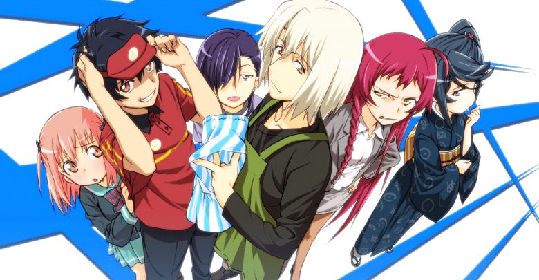 Download Hataraku Maou-sama 1080p x265 Dual Audio encoded anime