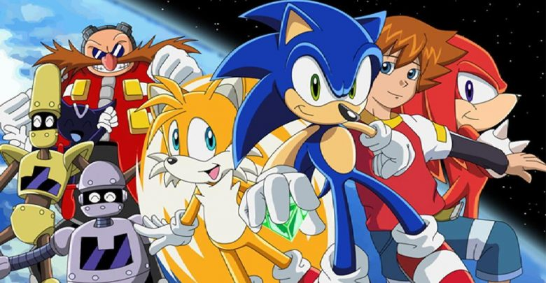 Sonic X | 480p | DVD | English Subbed