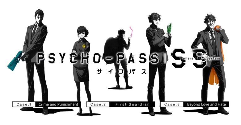 Psycho Pass - Sinners of the System Case