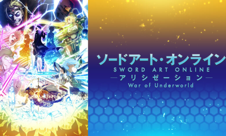 Sword Art Online Alicization War Of Underworld Part 2