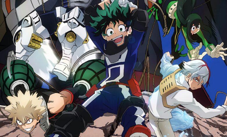 Boku No Hero Academia Sukue! Kyuujo Kunren!