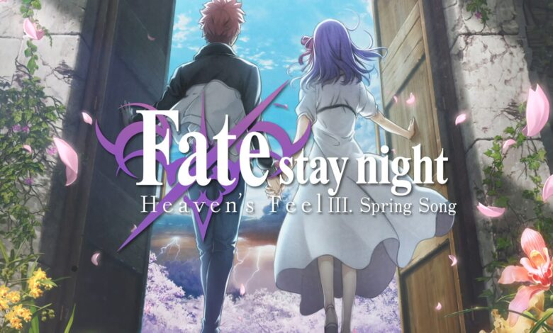 Fate Stay Night Heaven's Feel Iii. Spring Song1